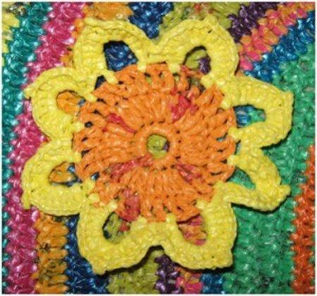 Схемы вязания ковриков крючком для пола