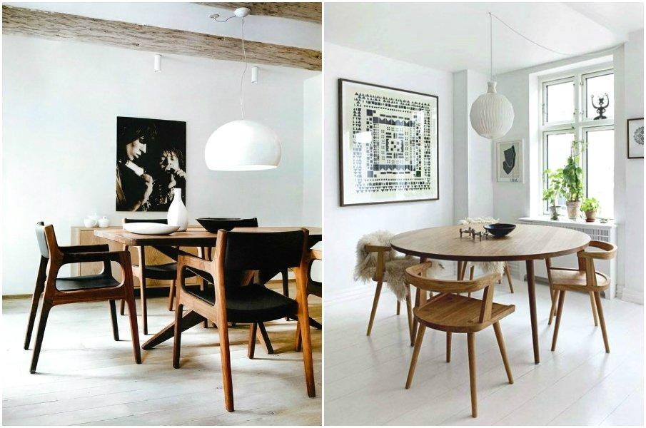 Лаконичные стулья с подлокотниками в стиле модерн