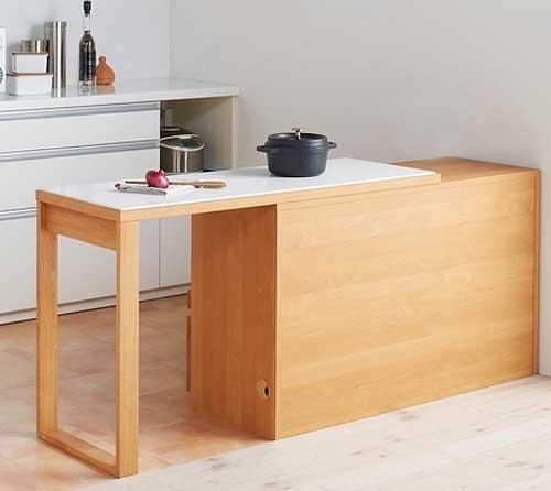 Стол выездной для маленькой кухни