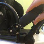 Как снять чехлы с коляски