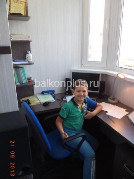 Отделка балконов в Челябинске. Превращение его в комнату для ребенка