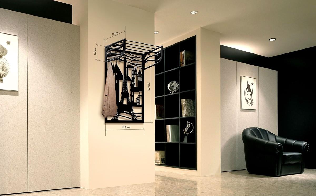 красивая вешалка для прихожей комнаты дизайн