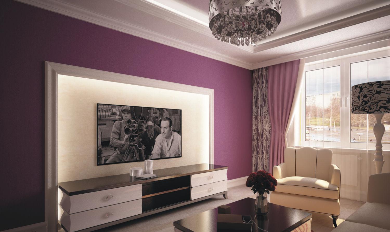 В комнате с подвесными потолками уместно установит струнную конструкцию