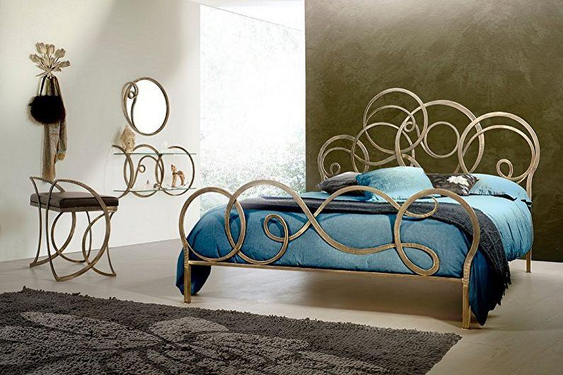 Кованые кровати - Преимущества и недостатки