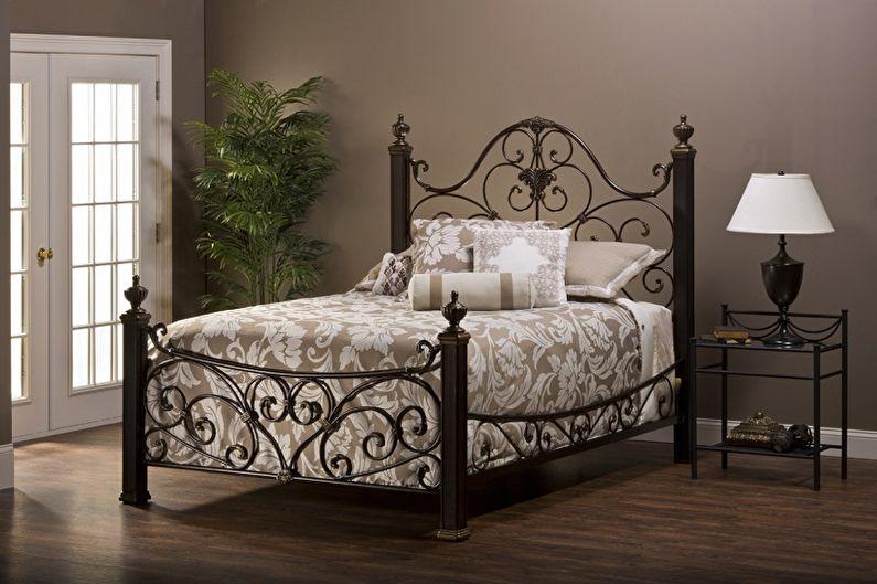 Кованые кровати - Особенности