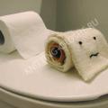 вязаная туалетная бумага