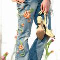как обновить джинсы своими руками