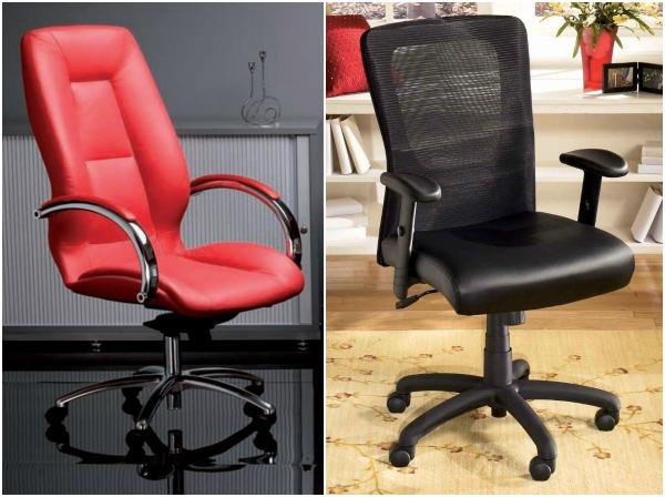 Офисные кресла с мягкими подлокотниками