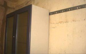 фото подготовки стен для крепления шкафов