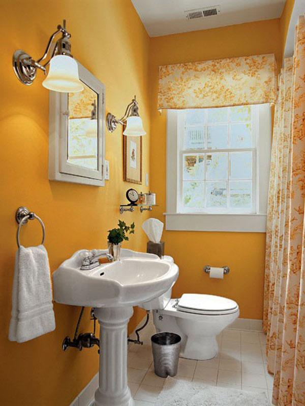 Выбор мебели и светильников для дизайна маленькой ванной комнаты