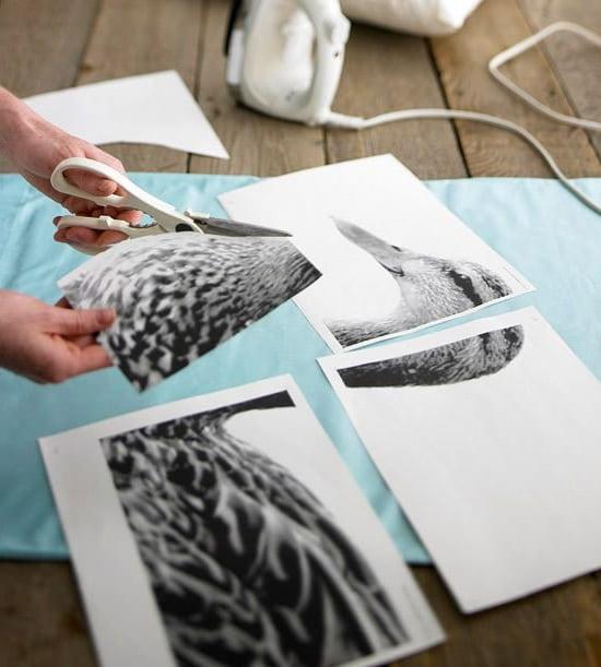 Приобрести термотрансферную бумагу для переноса рисунка на ткань можно в любом специализированном магазине
