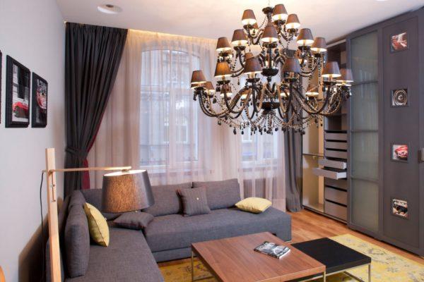 Однокомнатная квартира: стильно, модно, а главное — удобно