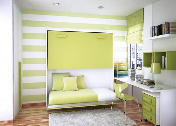 Шкаф-кровать в комнате подростка