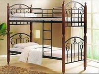Железная двухъярусная кровать
