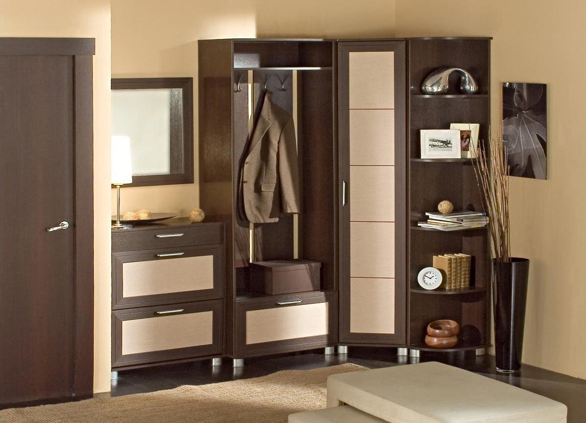 удобный дизайн прихожей комнаты