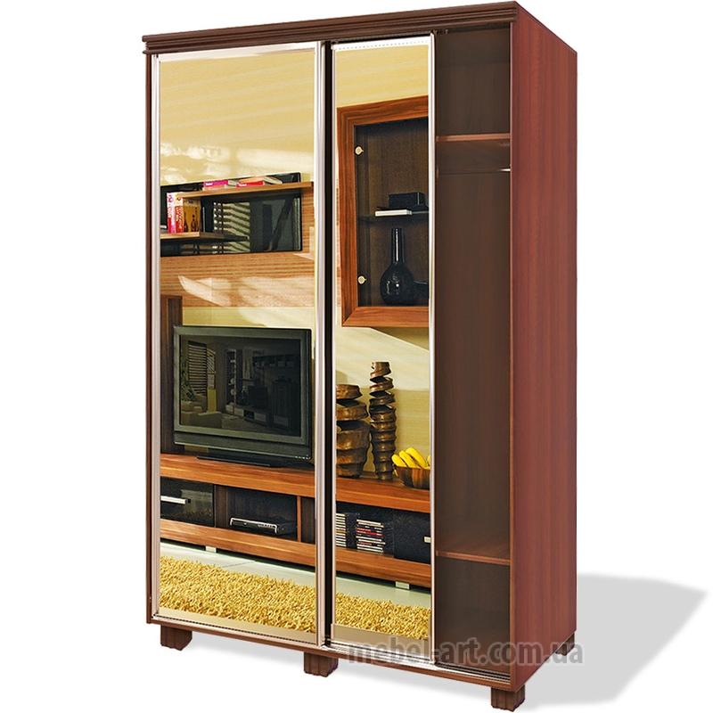 Недорогой шкаф-купе для детской комнаты