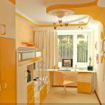 Вариант двухярусной кровати для детской комнаты