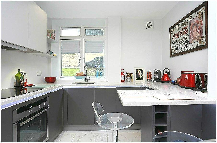 G-образная планировка небольшой кухни