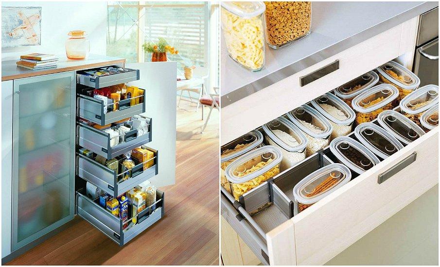 Организуйте правильную систему хранения продуктов