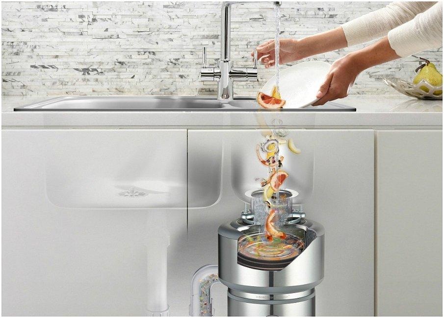 Измельчитель пищевых отходов - настоящий помощник на кухне