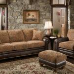 мягкий коричневый диван