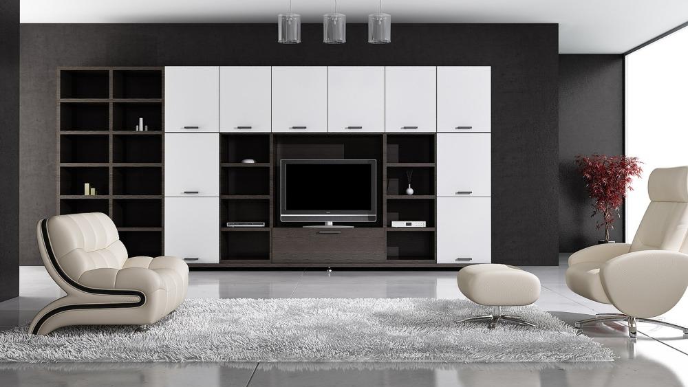 Шкаф в стиле минимализм для готсиной