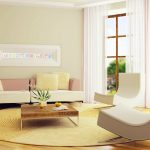Minimalist-style-living-room-with-leisure-sofa