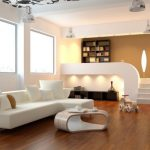 white-Minimalist-living-room-interior-design