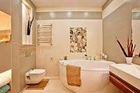 бежевая ванная комната фото