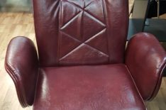 Перетяжка офисного кресла фото 4