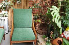 Перетяжка подушек садовой мебели фото 2