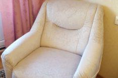 Обивка кресла фото 26