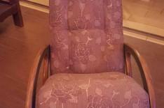перетяжка кресла качалки
