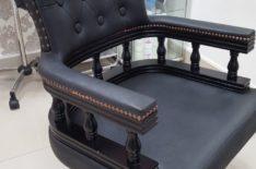ремонт и перетяжка эксклюзивного кресла фото 1