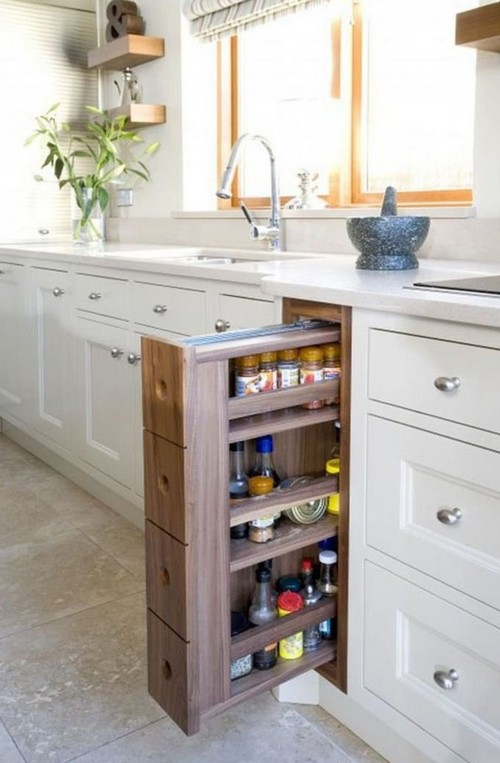 Шкаф-бутылочница для кухни