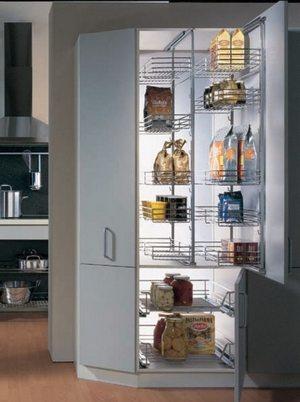 Колонна для посуды в кухню