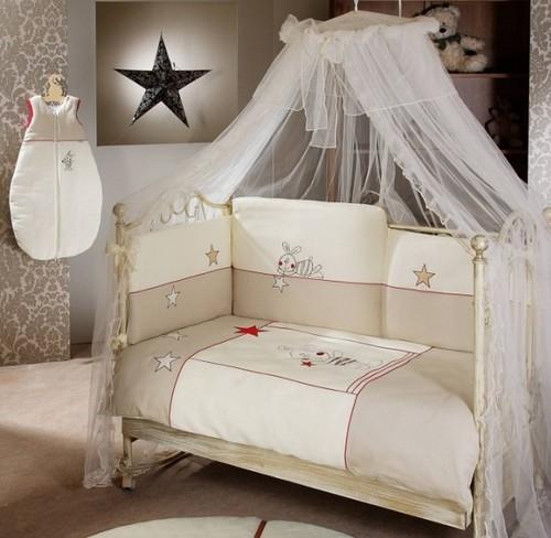 Защитные бортики для детской кроватки