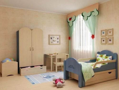 Кровать с бортиками, растущая вместе с ребенком