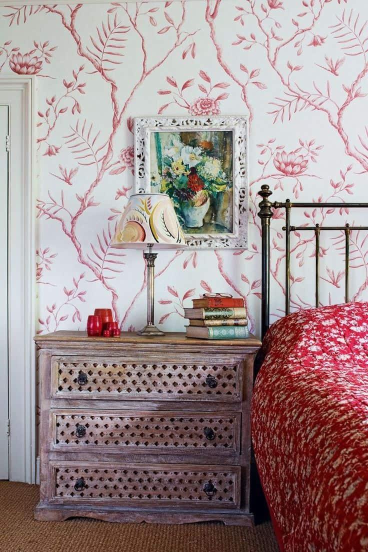 Интерьер спальни в стиле прованс