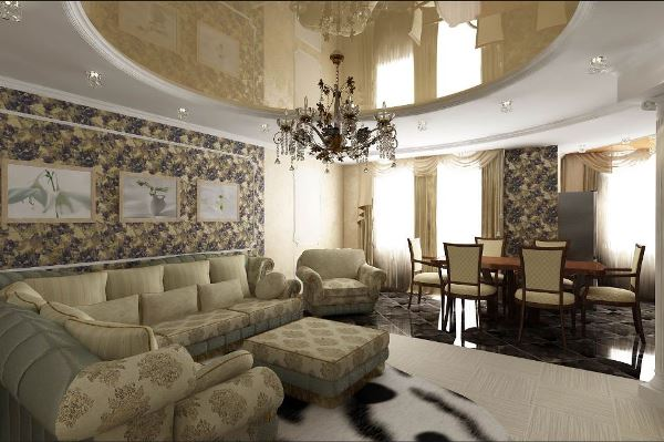 классические диваны для гостиной фото