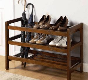 Этажерка для обуви своими руками или как экономить бюджет семьи