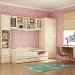 Детская комната для девочки: оформление дизайна