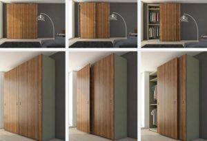 шкаф раздвижные двери