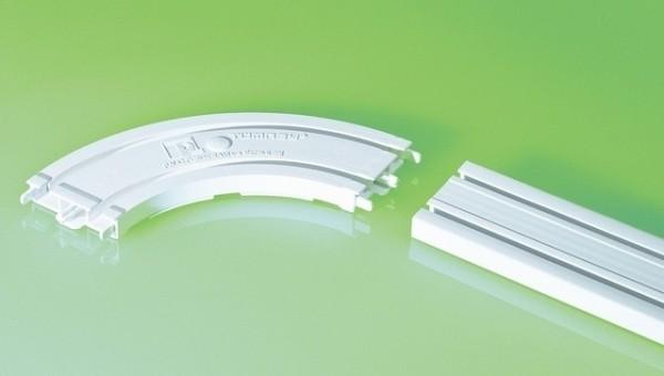 Поворот и шина должны быть одной ширины и конструкции профиля