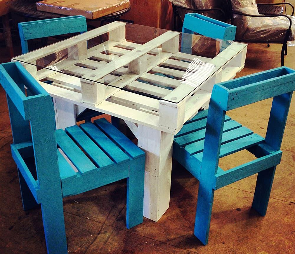 Мебель для улицы из поддонов отличная возможность сэкономить значительную сумму денег