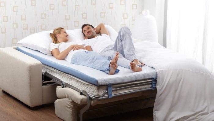 выбор дивана для хорошего сна