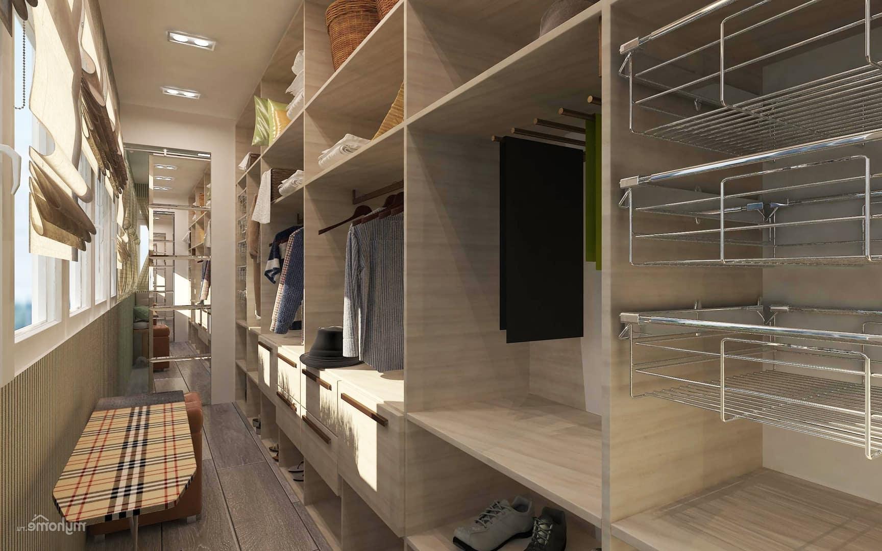 Большие и широкие отделения для одежды