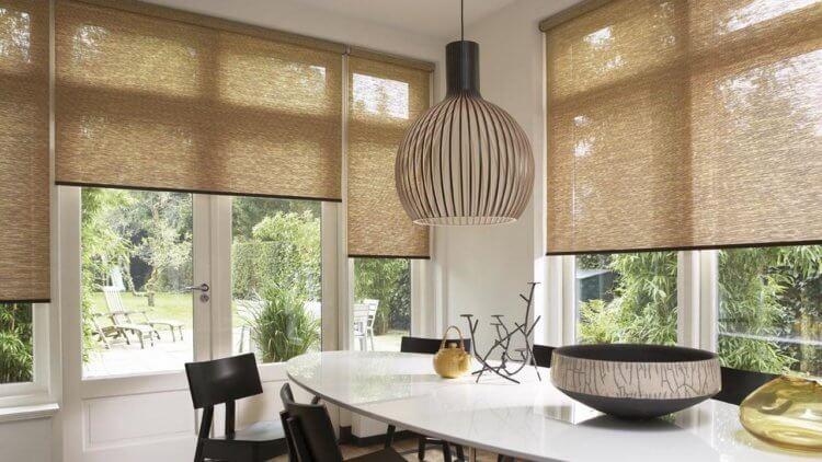 рулонные шторы на кухню6