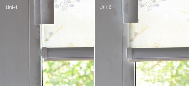 Расположение ткани в системах UNI-1 и UNI-2