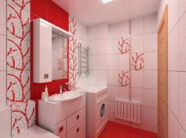 Дизайн ванной комнаты 6 кв м